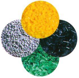 플라스틱 작은 알모양으로 하기 알갱이로 만드는 선을 재생하는 PP PE