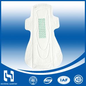 100綿通気性の290mm OEMの使い捨て可能な生理用ナプキン
