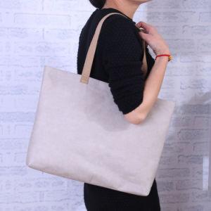 Lavable bolsa de papel Kraft Bolso Bolso Hobo Bag Bolsa de compras amigable Eco Bolsa Reciclaje