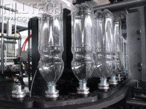 Alta eficiência e máquina de sopro de garrafas PET