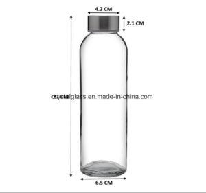 Saft-trinkende Getränkeflasche mit Schleifen-Kappe