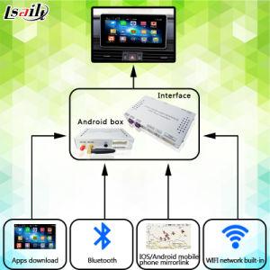 Android Market 6.0 Caixa de navegação GPS para a Audi A6l/s6/A8l/T7/A4l/A5/T5/T3/A1 3gmmi com WiFi Mirrorlink mapa on-line Youtube