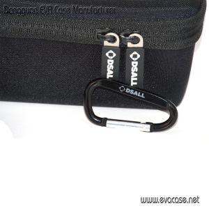 Impermeable de Nylon personalizada EVA Cabello Kit de almacenamiento de hierro rectos con bolsillo de malla