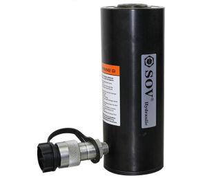 中国の価格の薄い25ton単動水圧シリンダ