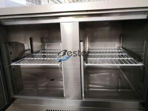 De commerciële Teller van de Ijskast voor Saladette GN 1/1 (S903 de BOVENKANT van S/S)