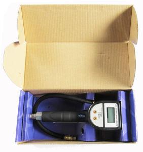 4 em 1 de Pneu para carro de insuflação de ar Medidor de Pressão de Pneu Digital