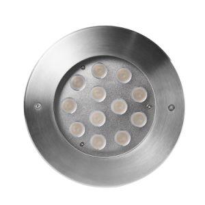 Из нержавеющей стали белого цвета RGB LED подводного бассейн освещение
