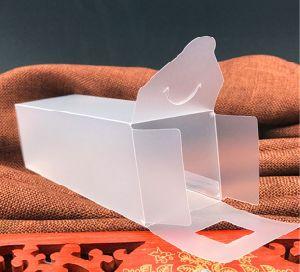 曇らされたプラスチックケース透過ペットボックス
