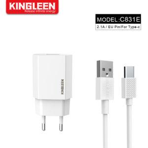 Ес разъем USB типа C настенное зарядное устройство Зарядное устройство 2.1A адаптера USB-кабель 3фт совместимый Samsung Galaxy
