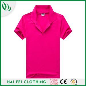 Barato preço boa qualidade de CVC 200gsm Piqué Polo shirt promocional