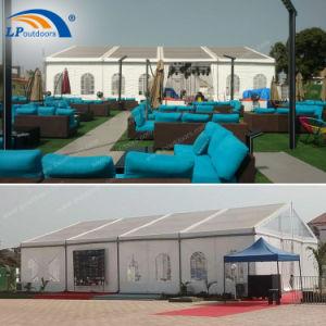 Tenten voor Tent van de Partij van het Huwelijk van Gebeurtenissen de Openlucht met Bevloering