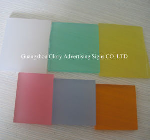 Het Transparante Acryl AcrylBlad van Bladen PMMA en AcrylRaad