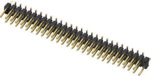 riga 2~40 Pins&#160 di Single&Double dell'intestazione di Pin del passo di 2.54 2.00 1.27mm;