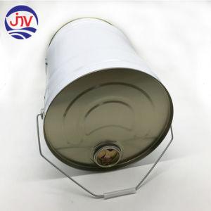 Tambores de metal redonda Canhão de estanho pintura 20L com tampa galvanizado