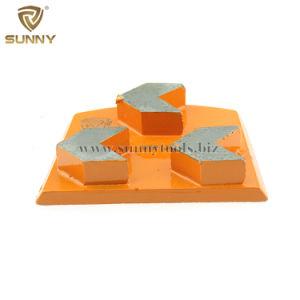 競争価格の高性能明るいLavinaのダイヤモンドの具体的な床の粉砕の磨く靴