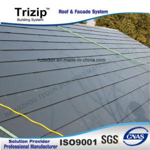 Vert cuivre du toit de bardeaux de métal