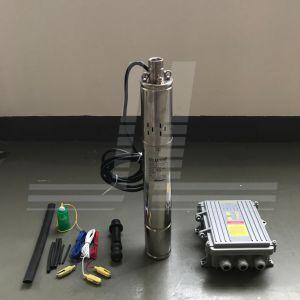 3ssh1.5/95-D24/270W太陽DCポンプ、MPPTのコントローラが付いているSoalrの浸水許容ポンプ