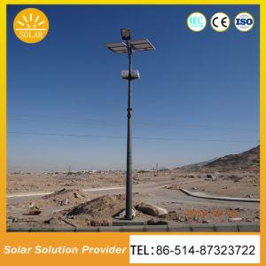 65W de alta potencia 70W 80W LED Solar Farolas Diseño antirrobo
