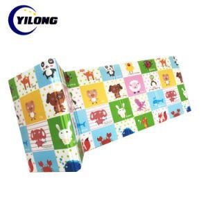 Otro patrón personalizado piso colchonetas de espuma de plegado lateral