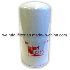 ディーゼル機関は円滑油のフィルター素子のFleetguardの石油フィルターLf670を分ける
