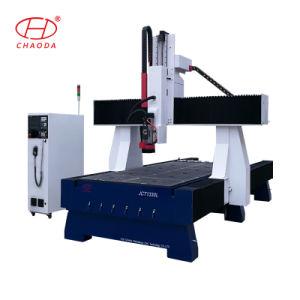 4つの軸線あく木製の泡の彫版のための木製CNC機械