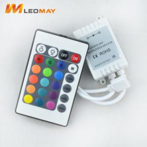 12V 6Um Controlador RGB LED com controle remoto