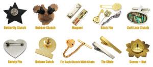 고품질 공장 가격 주문 긴 바늘 접어젖힌 옷깃 Pin