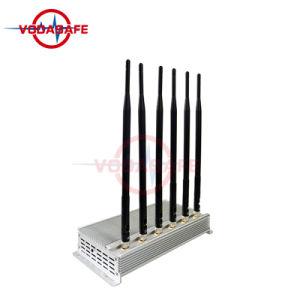 Blocker van het Signaal van Cellphone van CDMA/GSM/2g/3G2100MHz/4glte/Wi-Fi/Bluetooth Straal 1030m van de Dekking GSM Stoorzender
