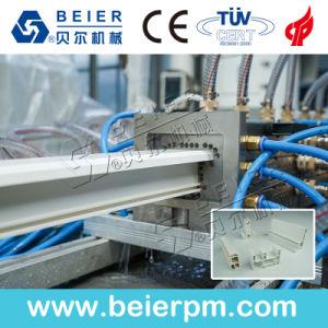 Machine van de Uitdrijving van de Productie van de Extruder van het Profiel WPC van pvc de Houten Plastic