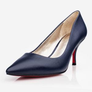 Simple Diseño de Moda Señoras Tacón zapatos de mujer