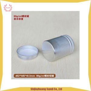 アルミニウムねじ帽子の表面クリームの瓶