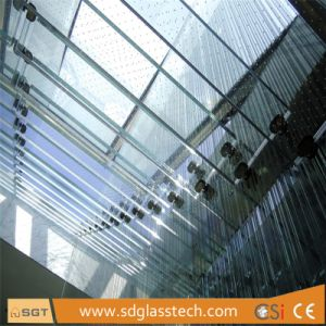 建物のための低い鉄の/Ultra強くされたか、または和らげられた明確なガラス