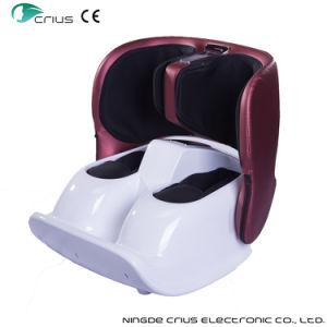 Foldable熱くする振動の子牛の空気圧縮の足のフィートのマッサージャー