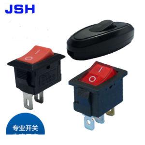 Interruptor oscilante de barco Mini 3A 250V AC Snap Spdt on-off no pino 3 Interruptores de vermelho