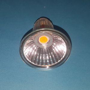 Foco LED regulable lámpara MR16 COB 5W con reflector