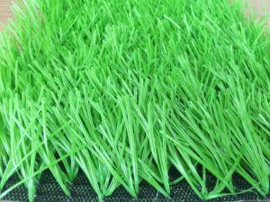 Materiale molle del PE del filato dell'erba di gioco del calcio di gioco del calcio della moquette artificiale del tappeto erboso
