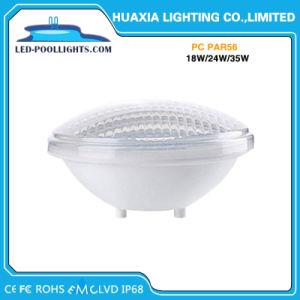 18W indicatore luminoso subacqueo professionale della piscina della fabbrica 12V LED PAR56 LED