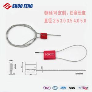 Один раз металлическая прокладка кабеля