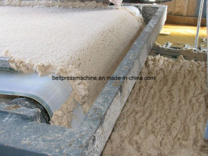 Filtro Prensa de la correa de la máquina para la deshidratación de lodos Tapiaco