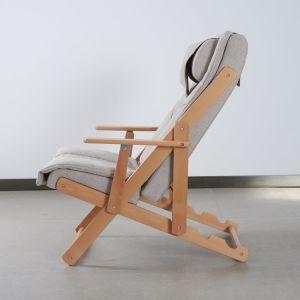 Una buena venta madera sillón con rodillos de masaje