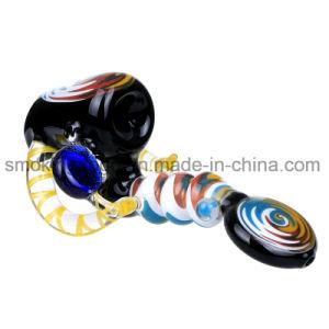 Fumar tabaco de pipa de vidrio de vidrio grueso Sherlock Bowl botella lavagases tubos mano