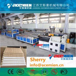 PU de alta calidad de plástico PVC Panel de EPS máquina de hacer el techo de la línea de producción de extrusión