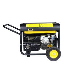 Nuevo 5.0kw 13,0CV Ruedas y mango portátil tipo P Generador Gasolina