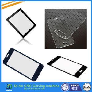 3 cabeças de corte CNC de alta precisão da máquina para vidro acrílico, PVC, metal, Non-Metal