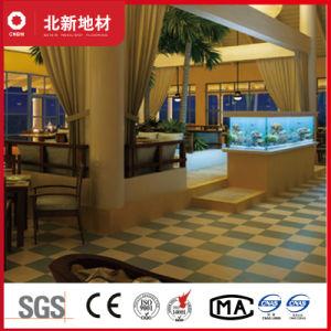 水の青いVctのタイル張りの床2mm Nmv39