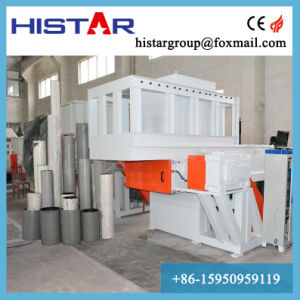 El palet de madera/ Ordenador/impresora/ E-Máquina de trituración de residuos
