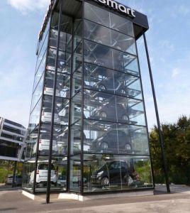 Вертикального распространения системы парковки для внедорожников