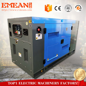 経済力AC 1/3phases Cannopy 26kw 32.5kVA無声ディーゼル発電機Genset