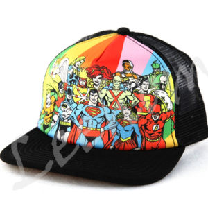 昇華プリント急な回復の野球の網の帽子