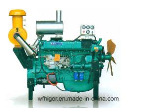 288kw 6 koelde het Water van Cilinders Dieselmotor van de Macht van 4 Slag de Turbo Geladen Grote